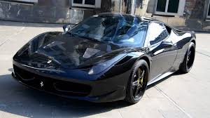 ferrari 458 black carbon edition. ferrari 458 black carbon edition youtube