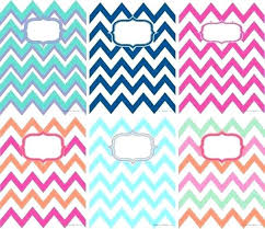 Free Printable Lilly Pulitzer Monogram Binder Covers Cover Templates