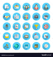 Resume Icons Top Round Flat Resume Icons Vector File Free Vector Drawing 57