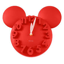 Amazon.com: onegood Modern Design Mickey Mouse Big Digit 3D Wall ...