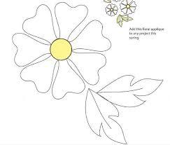 Best 25+ Flower applique ideas on Pinterest | Flower applique ... & Free Applique Patterns | Free download: Flower applique pattern | Quilting  | CraftGossip.com Adamdwight.com