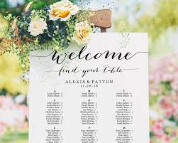 Wedding Seating Chart Poster Board Wedding Seating Chart Foam Board Best Picture Of Chart