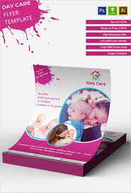 11 12 Free Child Care Flyer Templates Malleckdesignco