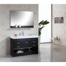 nice modern bathroom vanities single sink design element decc e