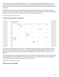 One Year Timeline Template Every Timeline Template Youll Ever Need The 18 Best Templates
