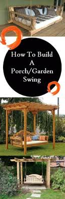 Small Picture building a tall swing frame Porch Swing A Frame DIY Outdoor