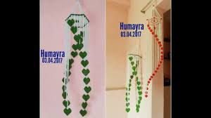 How to make Beaded Wind Chime /Wall Hanging /  / design 2