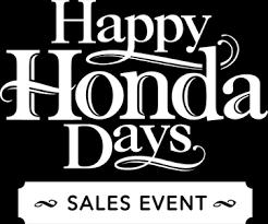 honda logo png white. honda days sales event logo png white