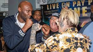 Lamar Odom knocks out Aaron Carter in a ...