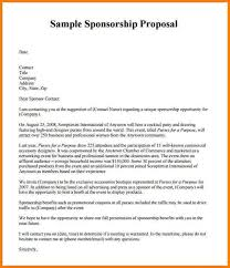 Sponsorship Proposal Template Pccc Us Business Proposal