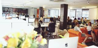 creative agency office. Creative And Vibrant Company Where Office Pups Married With Passion Are Ingredients For The Best Recruitment Agency Not Only In London But T