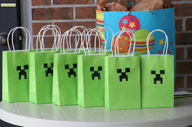 Minecraft Party Decorations Diy Birthday Themes Small Town Fashionista