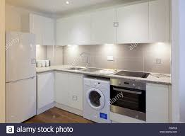 White Kitchen Uk One Church Square London Uk An All White Kitchen In A Modern
