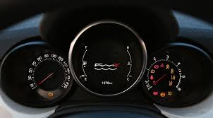 2015 fiat 500x interior. fiat 500x dial cluster features classic style but central digital display 2015 500x interior