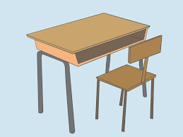 school desk. 3200x2400 Clever Ideas How To Draw A Desk Drawing Cartoon Chair School