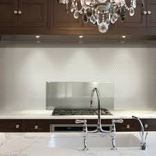 Smart Tiles Kitchen Backsplash Smart Tiles 963 In X 1127 In Peel And Stick Mosaic Decorative