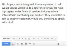 sample letter requesting payment for services the art of asking for a customer reference
