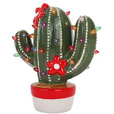 Christmas Cactus Light Up Details About Trees Ceramic Christmas Cactus Vintage Light Up Nostalgic Cactus Nostalgic
