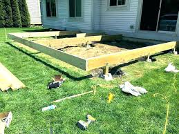 floating deck over concrete patio floating deck over concrete patio wood design building a floating deck