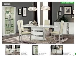 italian white furniture. dining room furniture modern formal sets roma white italy italian