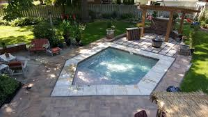 inground pools with waterfalls and hot tubs. In Ground Hot Tub Inground Pools With Waterfalls And Tubs T