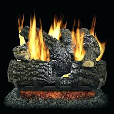 vented gas fireplace logs place place vented gas fireplace logs home depot
