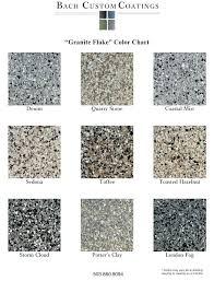 Epoxy Garage Floor Color Chart The Incredible And Beautiful Garage Floor Sealer Confedem Org