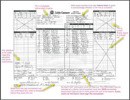 Sample Hockey Score Sheet Hockey Score Sheet Printable 1