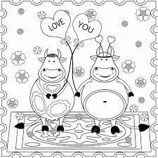 Achtergrond Met Grappige Dieren Kleurplaten Voor Kids En Grappige