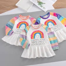 2019 <b>CYSINCOS</b> 2019 Casual Baby Girls <b>Dresses</b> Cute Kids <b>White</b> ...