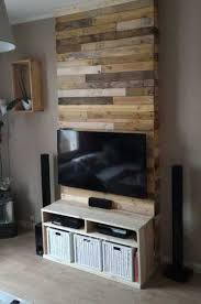 Floors Made From Pallets 50 Creative Diy Tv Stand Ideas For Your Room Interior Diy