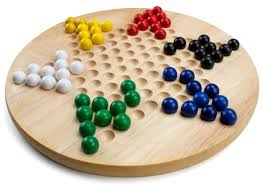Game With Wooden Board And Marbles Amazon All Natural Wood Chinese Checkers with Wooden Marbles 71