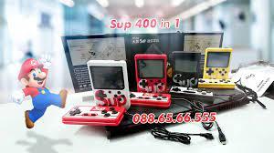 Máy Chơi Game Mini Sup 400 in 1   Đồ chơi Công nghệ Thông Minh - TecKi.Vn