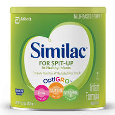 Similac Feeding Chart Pdf Similac For Spit Up With Dha Lutein And Vitamin E