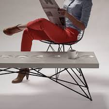 concrete and wood furniture. Furniture Concrete Steel Modern Hard Goods And Wood
