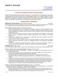 Hr Resume Objective Coordinator Template Recruiter Example Manager