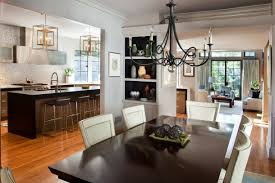 Open Kitchen Dining Living Room Kitchen Dining And Living Room Open Designs Romantic Open Floor