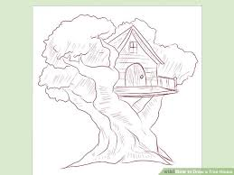 how to draw a treehouse step by step. Modren Draw Image Titled Draw A Tree House Step 3 On How To A Treehouse By
