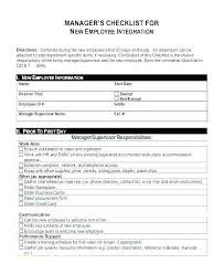 employer emergency contact form template staff checklist template