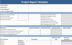 Project Management Report Templates Get Project Management Report Template Project Management