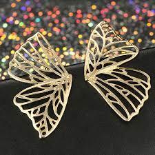 women wing earring jewelry