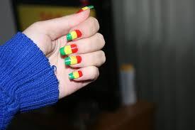 Rasta Nails by Crissuka on DeviantArt