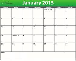 Excel Calendar Template 2015 Magdalene Project Org