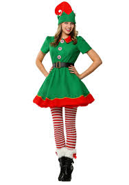 women s holiday elf plus size costume