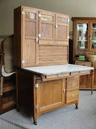 Small Picture 1920s Vintage Sellers Mastercraft Oak Kitchen Cabinet with Slag