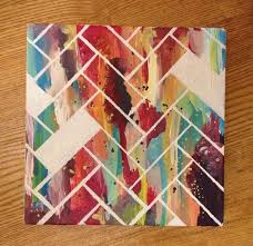 22 incredibly easy diy ideas for creating your own abstract art pinterest herringbone pattern herringbone and diy ideas on create your own canvas wall art with 22 incredibly easy diy ideas for creating your own abstract art