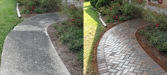 concrete vs pavers pavers modern