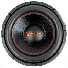 Q Power 12 Inch 3000 Watt Super Deluxe Subwoofer DVC Car Audio Sub