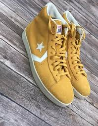 converse pro leather vintage suede 8 like new