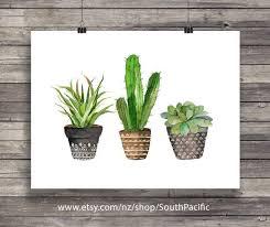 <b>Cacti</b> art print <b>Watercolor cactus</b> painting <b>watercolor cactus</b> house ...